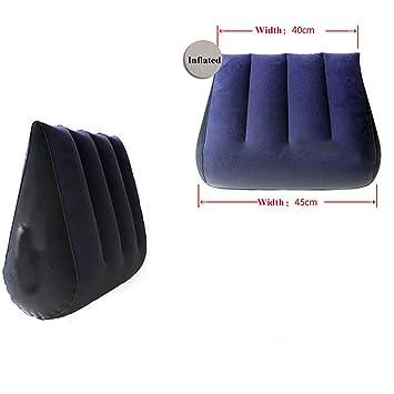 Amazon.com: Almohada de triángulo para sofá con posición ...