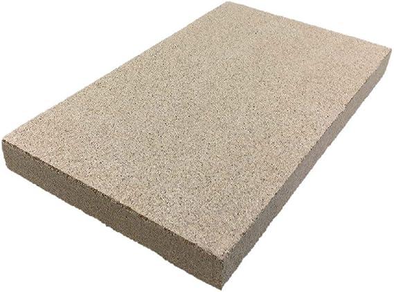 400 x 600 mm, 40 mm de grosor Placas de vermiculita