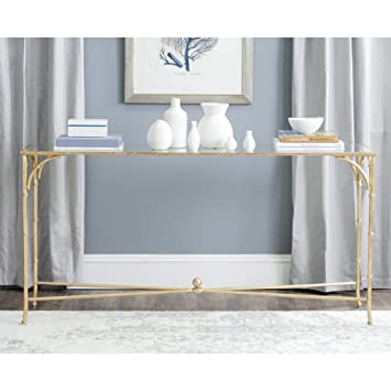 Fantastic Safavieh Fox2544A Home Collection Maurice Gold Inzonedesignstudio Interior Chair Design Inzonedesignstudiocom