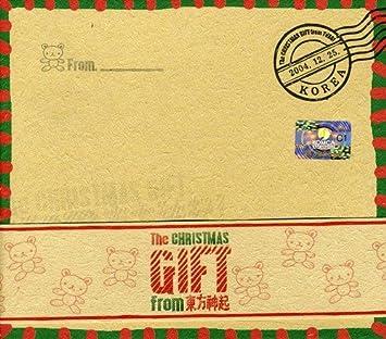 amazon christmas gift from 東方神起 dong bang shin ki