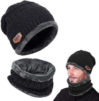 cheap4uk Gorros Invierno para Hombre Mujeres, Sombrero de Punto ...