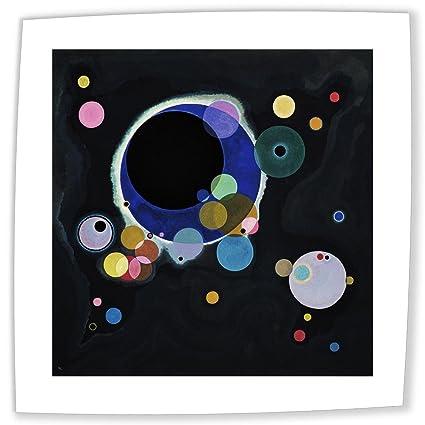 amazon com neron art wassily kandinsky several circles 1926