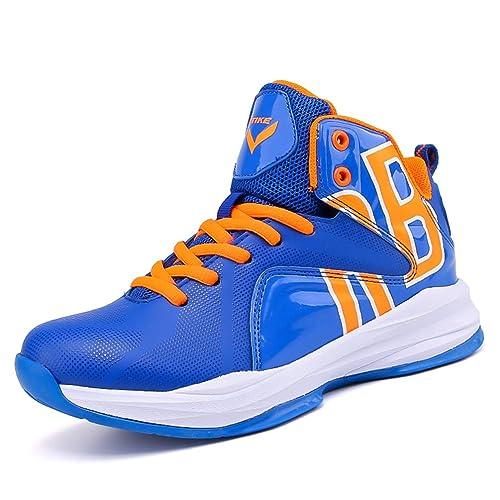 Zapatillas de Deporte para niños Zapatillas de Baloncesto para niños con Cordones Zapatillas Altas para niños Zapatillas cómodas para niños: Amazon.es: ...