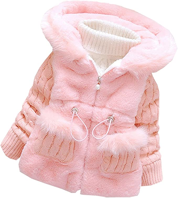 Amazon.com: DORAMI - Abrigo de algodón cálido para bebé y ...