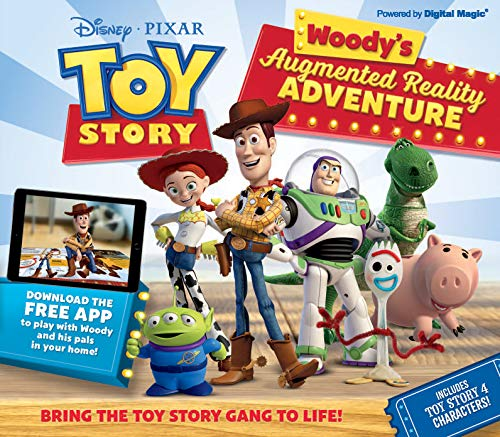 Toy Story Woody's Augmented Reality Adventure: Bring the Toy Story Gang to Life! ()