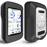 TUSITA Custodia per Garmin Edge Explore 820 - Cover Protettiva in Silicone per Pelle - Accessori per GPS Bike Computer (Nero)