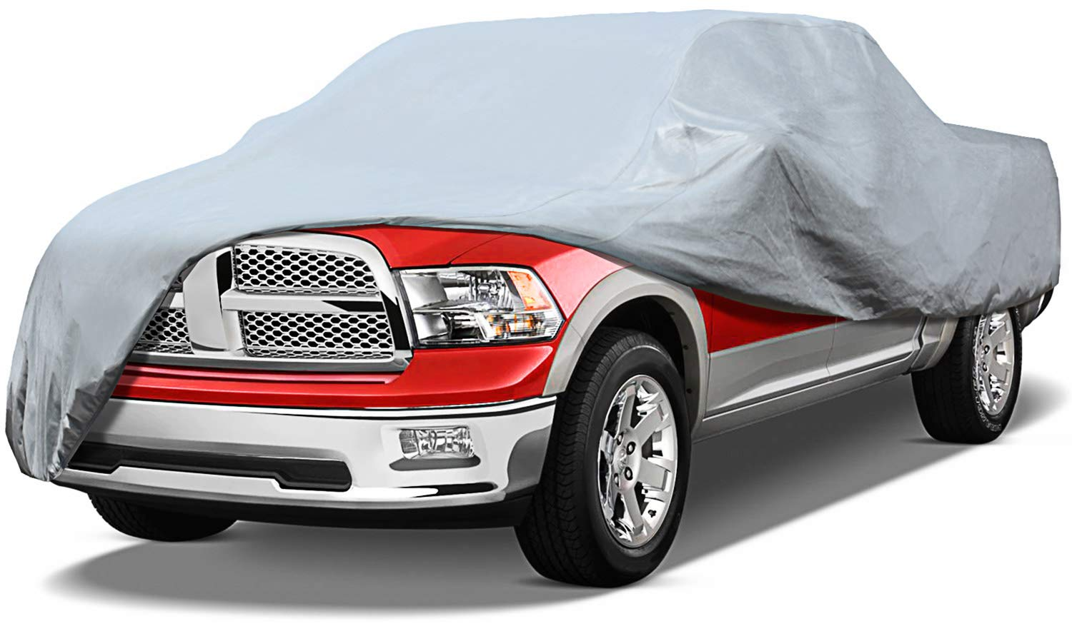 Leader Accessories Xtreme Guard 5 Layers Pick up Truck Car Cover Waterproof Breathable Outdoor Indoor (Pick up Truck up to 20'8'')