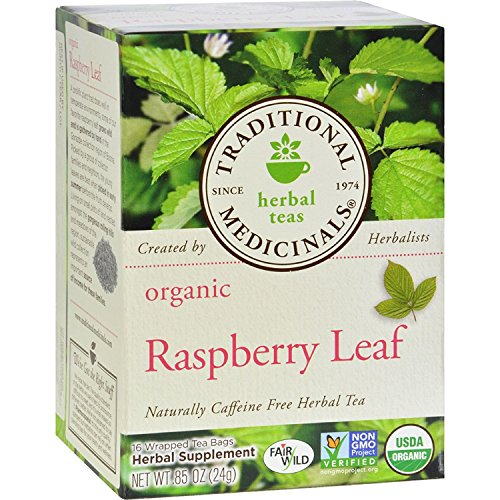 Traditional Medicinals Tea Raspberry Leaf ()