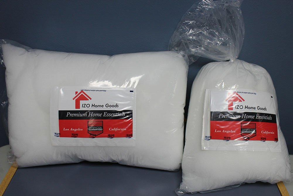 Amazon.com: Izo Home Goods Polyfill relleno de bolsa de 100 ...