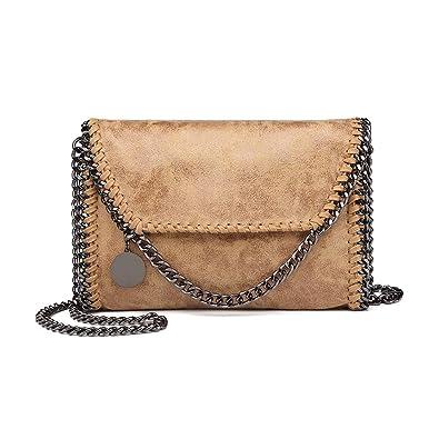 7285051014a9 Miss Lulu Shoulder Chain Evening Bag Envelope Clutch Mini Handbag Purse  Elegant Stylish Wedding Bridal Prom