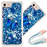 Best Luxury Iphone Cases - iPhone 8 Case, 3D Cute Painted Glitter Liquid Review