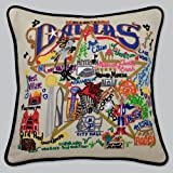 Catstudio Dallas Pillow - Original Geography Collection Home Décor 069(CS)