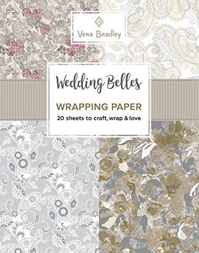 Vera Bradley Wedding Belles Wrapping Paper
