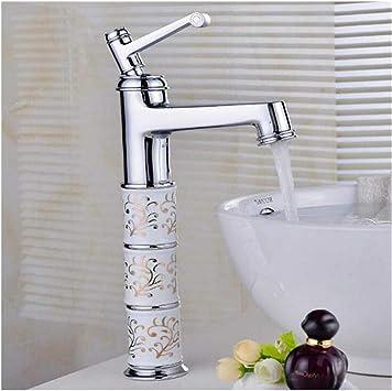 Grifo Cocina Lavabo Baño Bañera Jardin Baño B Asin Hot Cold Mixer Brass Faucet Ctzl2509: Amazon.es: Bricolaje y herramientas