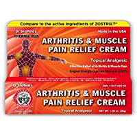 Dr. Sheffields Arthritis & Muscle Pain Relief, Therma Rub