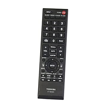 replacement remote control controller for toshiba 29l1350u 50l2200u rh amazon co uk Toshiba 60 Inch TV toshiba tv model 50l2200u manual