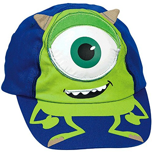 Monsters University Deluxe Hat (1 ct) (Mike Monsters Inc Costume)