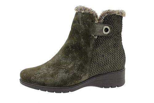 Zapato Cómodo Mujer Botín 175974 PieSanto: Amazon.es: Zapatos y complementos