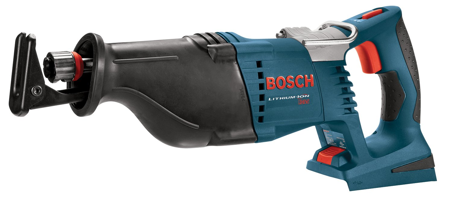 Bosch Bare-Tool 1651B 36-Volt Reciprocating Saw (Tool Only, No Battery) -  Power Reciprocating Saws - Amazon.com