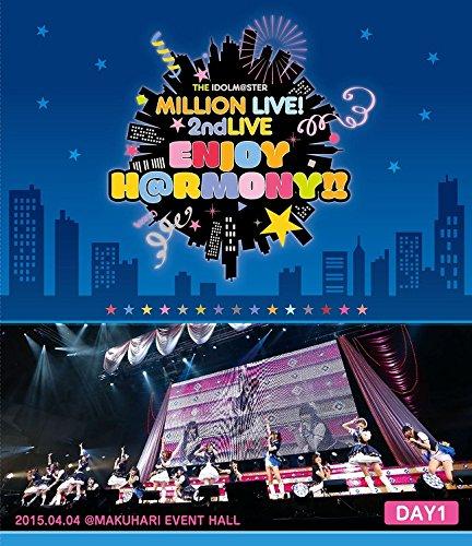 V.A. - The Idolm@Ster (Idolmaster) Million Live! 2Nd Live Enjoy H@Rmony!! Live Blu-Ray Day1 (2BDS) [Japan BD] LABX-8118