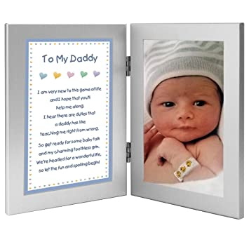 Newborn Baby Boy To Daddy Gift For Birthday Christmas