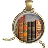 Booklover Library Necklace