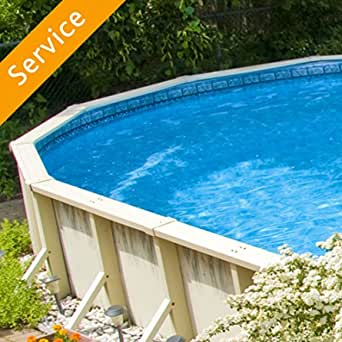 Above Ground Swimming Pool Assembly Up To 15 Feet