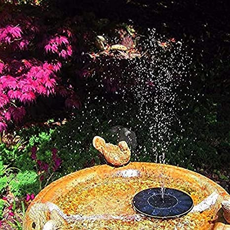 HZWLF Estanque Jardín Fuente Solar Bomba Flotante: Amazon.es: Deportes y aire libre