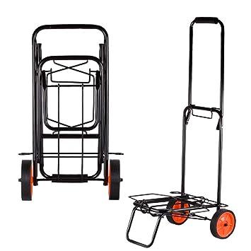 Carro de Rueda de Carretilla Industrial, Resistente, Plegable, Resistente y neumático, Plegable, para camión y neumáticos, con Ruedas: Amazon.es: ...