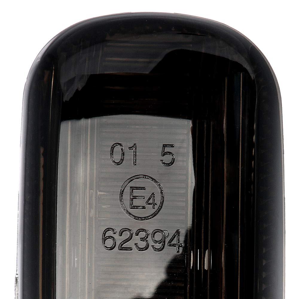 2 frecce a LED per frecce laterali frecce per parafango con marchio di omologazione E V-170812LG lampeggianti dinamici