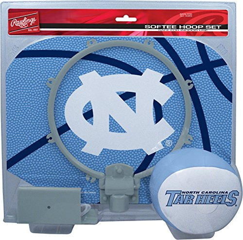 Softee Hoop Set - NCAA North Carolina Tar Heels Slam Dunk Softee Hoop Set, 12 x 9