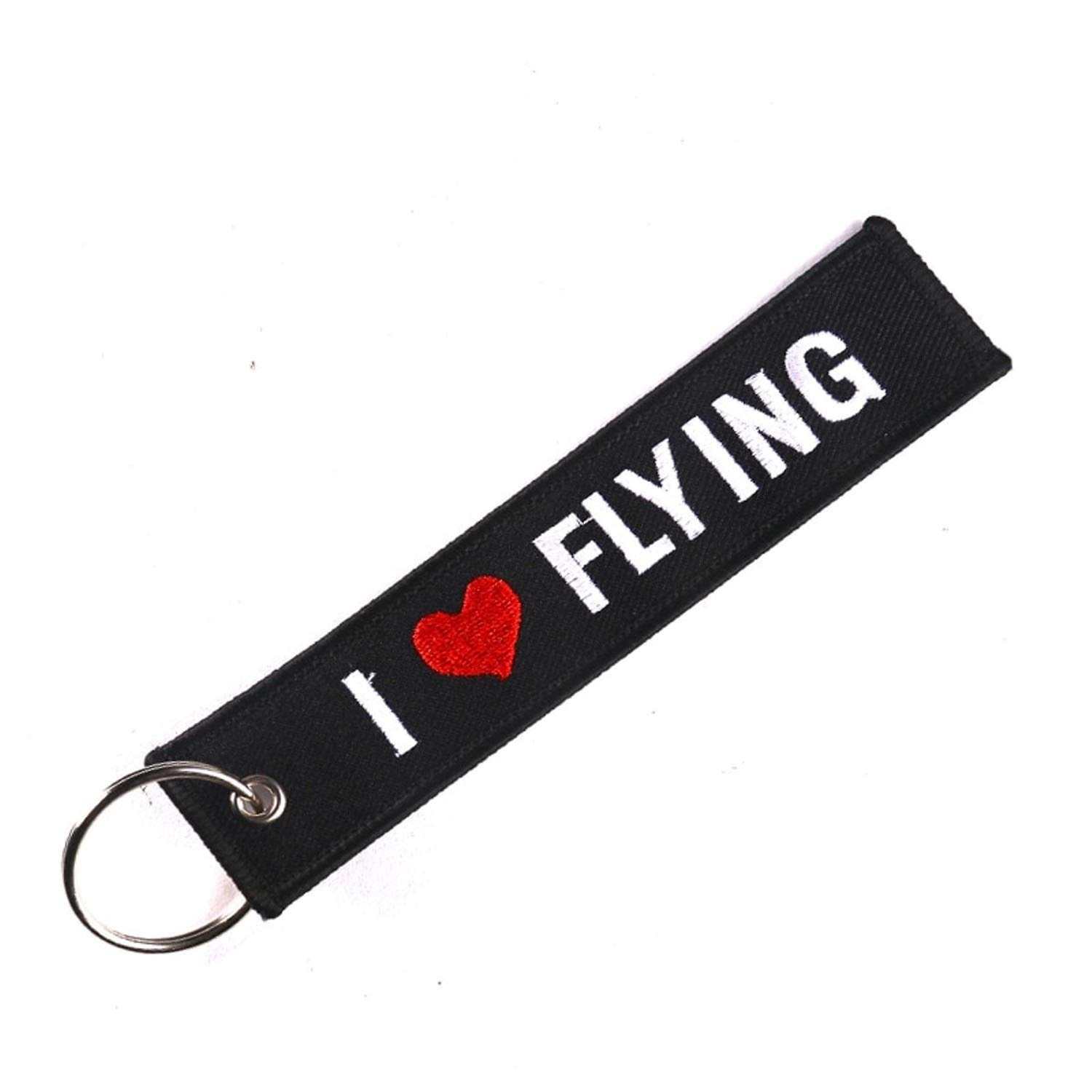 Amazon.com: Keychain - Gifts Flying Keyring Key Holder ...