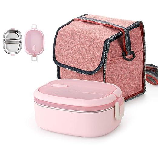 Serrale Bento Box Lunch Box Horno De Microondas De Acero ...