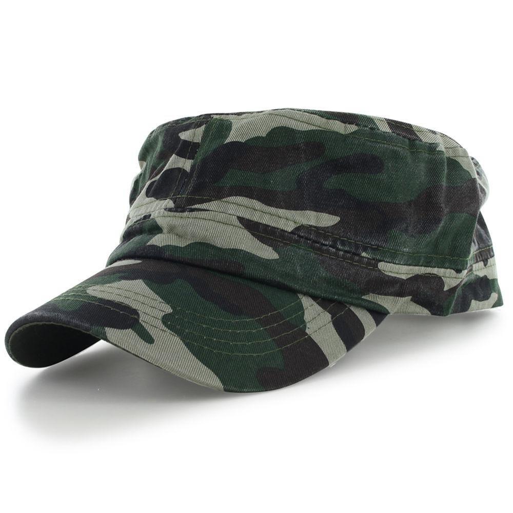 Camo_(US Seller)Military Style Caps Hat Unizex Bucket