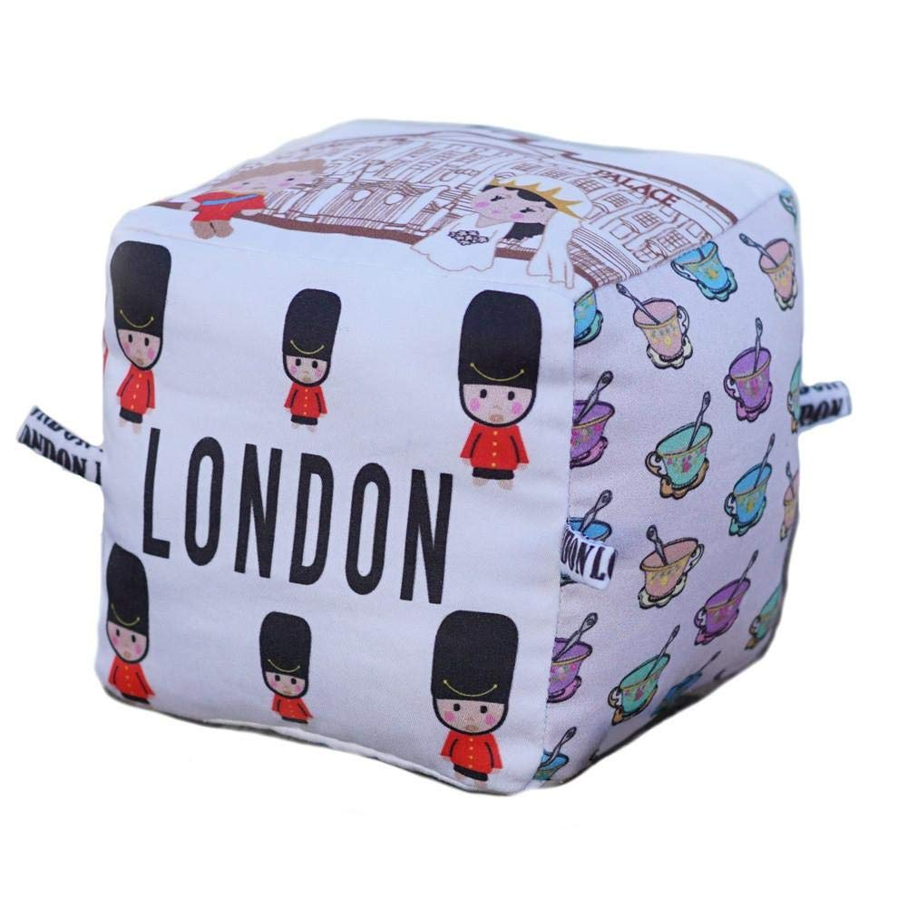 London City Block   Organic Toy   Eco Soft Cotton   Best Toy of the Year   Handmade in Brooklyn   Jingle Column   Rattle   Baby Blocks