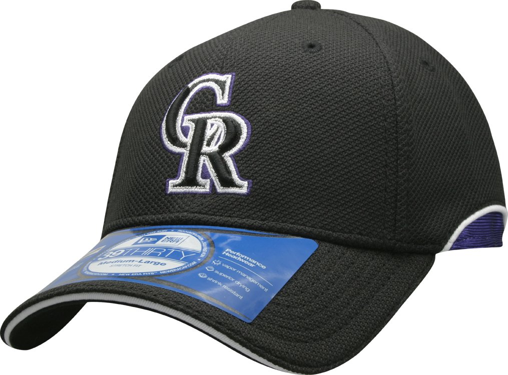 99c306814 New Era MLB Colorado Rockies Authentic Batting Practice Cap, Black,  Large/X-Large: Amazon.co.uk: Sports & Outdoors