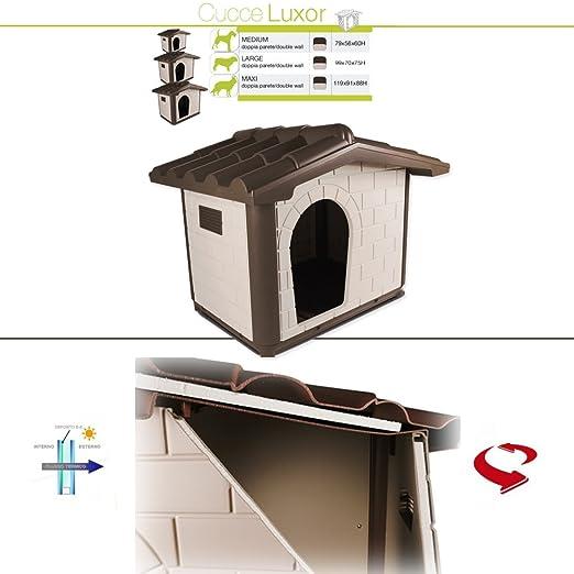 4 opinioni per Pet Italy Cuccia NEW per Cani Termica Luxor- X-Large- Cucce Termiche