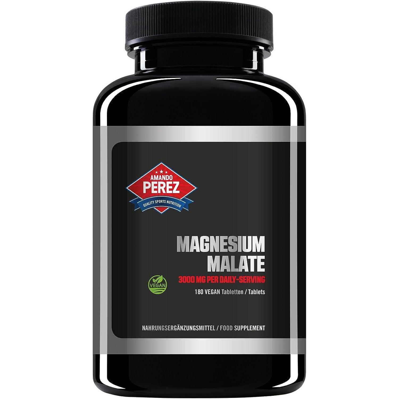 Amando Perez Magnesium Malate