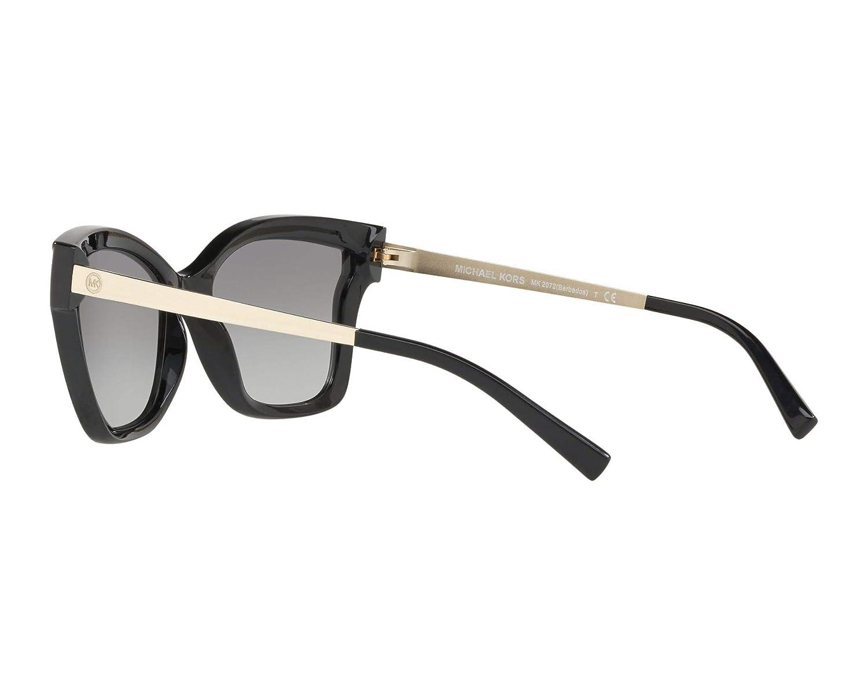 Amazon.com  Michael Kors MK2072 333211 Black Barbados Square Sunglasses  Lens Category 2 Siz  Michael Kors  Clothing 7e9b809408