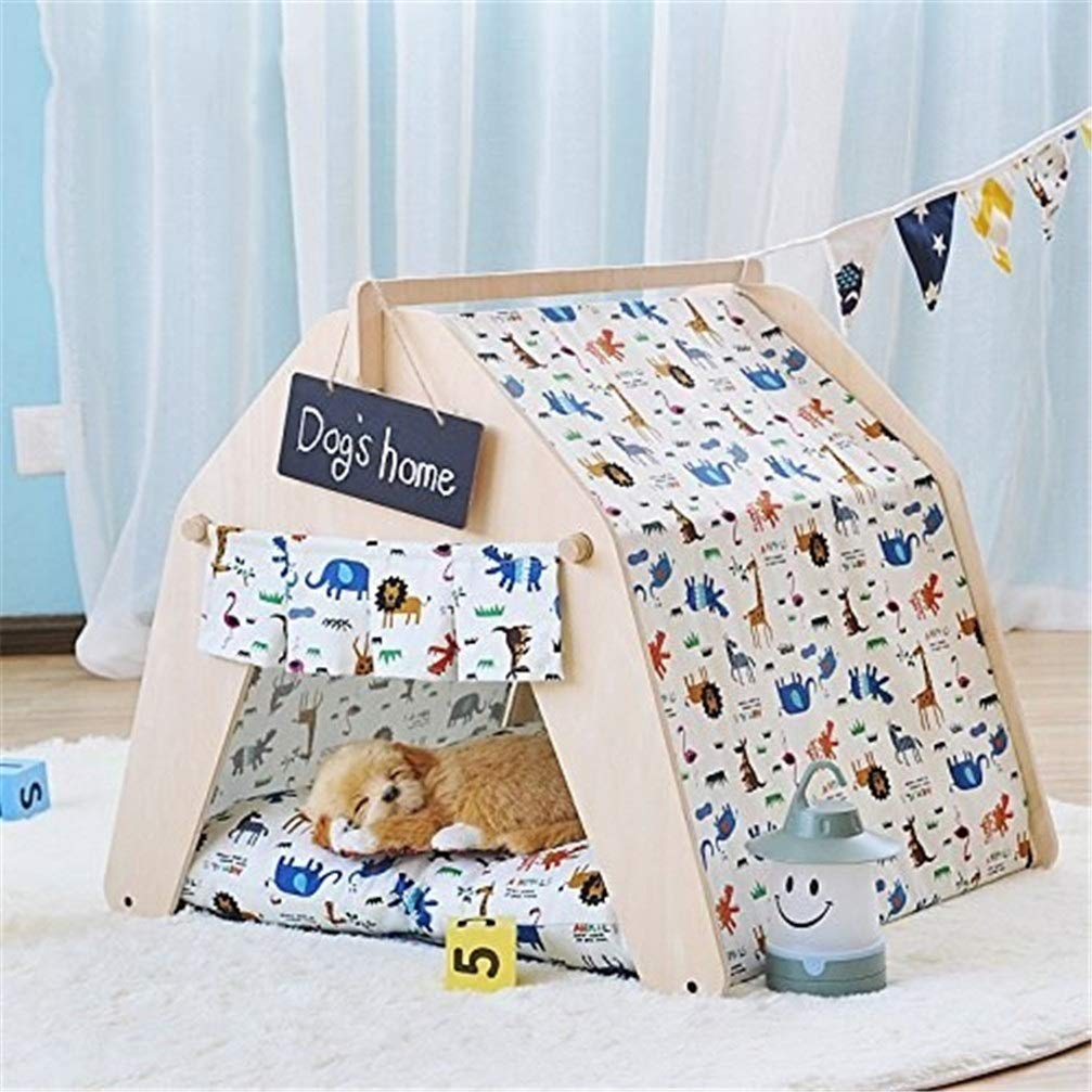 Chunchun Dog Bed Tent Removable Washable Play House Kennel Cat Nest Tent Cat/Dog Bed by Chunchun