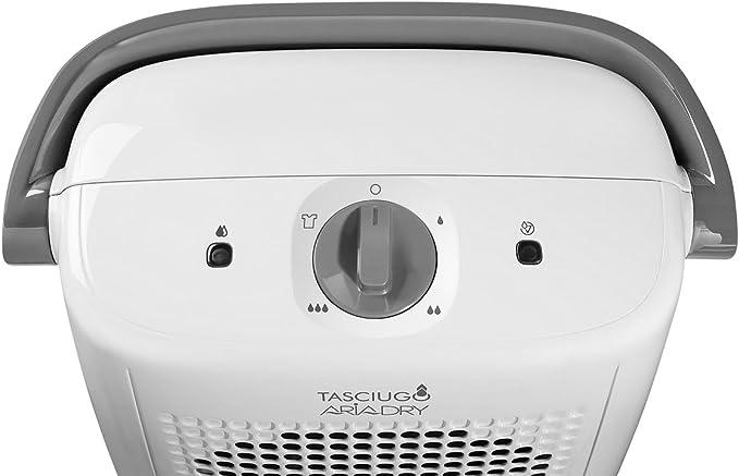 DeLonghi Tasciugo AriaDry DX10.WGY Deshumidificador, Depósito ...