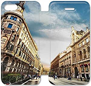 Barcelona-9 iPhone 6/6S Plus 5.5 Inch Leather Flip Case Protective Cover New Colorful