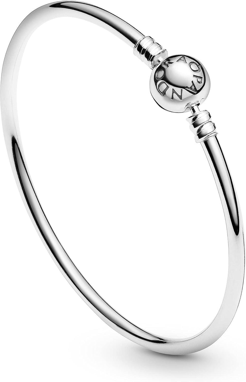 Amazon Com Pandora Bangle Sterling Silver Jewelry