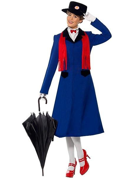 Amazon.com: Smiffys disfraz adulto de Mary Poppins: Toys & Games