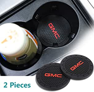 Green Funsport 2.75 Inch Diameter Oval Tough Logo Vehicle Travel Auto Cup Holder Insert Coaster Can 2 Pcs Pack for Bohemian Accessory