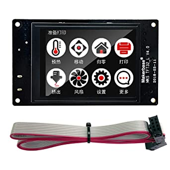 Sunhokey MKS TFT32 3 2inch Full-Color Touch Screen 3D Printer Controller  Board Support APP/BT/Editing/4 Languages