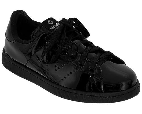 Victoria - Zapatillas de Deporte de Charol Mujer: Amazon.es: Zapatos y complementos