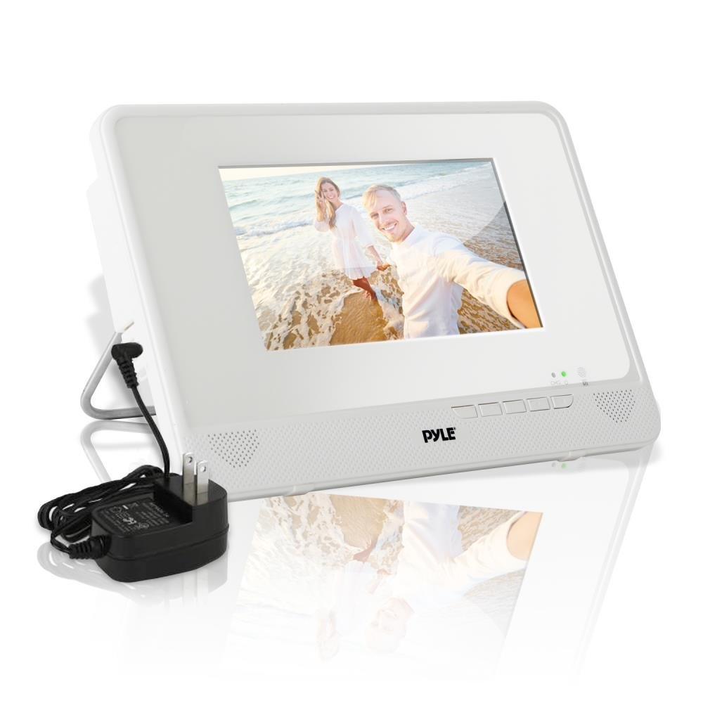 """Pyle 7"""" Waterproof Rated DVD Player[Portable Water Resistant CD/DVD Player] Built-in Rechargeable Battery 