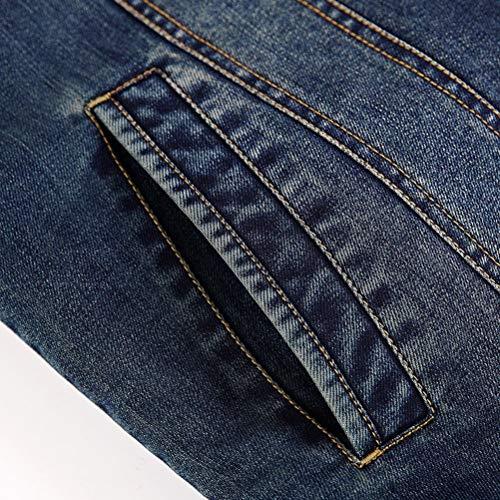 Da Xxxxl Blu Multicolore Plus Uomo In Dimensioni colore Cotone Giacca Cappotti E Autunno Inverno Large Giacche Velluto Casual qwtaRpBF
