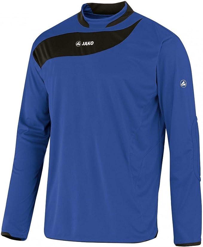 Jako Camiseta de Portero de Boca con Espalda Número 1 Camiseta de fútbol Camiseta Maillot de Balonmano, Color - Azul, tamaño S: Amazon.es: Deportes y aire libre